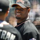 Many of Tuesday's All-Stars, who were on hand at San Francisco's AT&T Park for batting practice, stuck around to watch the event. Ken Griffey Jr. is a two-time winner of the the contest, taking it in 1998 at Coors Field and 1999 at Fenway Park.