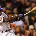 Alfonso Soriano gave the NL some hope in the bottom of the ninth, clubbing his third career All-Star Game home run, driving in Dmitri Young to cut the AL lead to 5-4.
