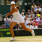 Marion Bartoli was in her sixth tournament final but never before had been beyond the fourth round at a major.