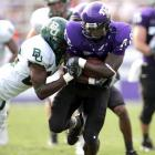 Wide receiver Jimmy Young and the Horned Frogs beat Baylor in the first of three former instate Southwest Conference rivals TCU plays in the opening month of the season.