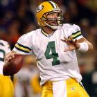 Favre had many of his greatest performances against the Bears, including this three-touchdown masterpiece at Soldier Field, which included a team-record 99-yard touchdown pass to Robert Brooks in a 27-24 win.