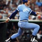 George Brett's three-run homer into the upper deck at Yankee Stadium off longtime rival Goose Gossage in the top of the seventh sealed a three-game sweep of New York, sending Kansas City to its first World Series.