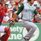 The Rangers, Tigers, A's, Red Sox and Yankees all had given up on the strapping first baseman when he signed a minor league deal with the Rays in February of '07. All he did was lead AL first basemen in homers (46), RBIs (121), on-base percentage and slugging percentage. Fluke or not, the gamble paid off.