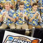 This moving song by David Barrett has been used each year since 1986 to accompany a montage of hoops highlights after the conclusion of NCAA men's championship game.