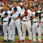 """Playing and singing """"The Star Spangled Banner"""" before games has been standard at baseball stadiums since World War II. Virtually all sports adopted the ritual, including """"O Canada"""" when teams from the Great White North are playing. Artists such as Marvin Gaye and Jose Feliciano have elevated it to an art form."""