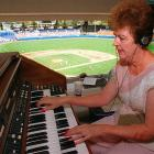 A vanishing breed that has been steadily replaced by sound booth deejays, organists were once standard at every stadium and arena. Nancy Bea Hefley has been plying her trade at Dodger Stadium since 1988