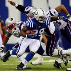 Joseph Addai registered the first double-triple in Colts' franchise history with 112 yards on the ground and 114 yards receiving, including a 73-yard score on a short pass from Manning.