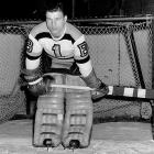 "Nicknamed ""Mr. Zero"" for the 40 shutouts in his career total of 252 wins, Brimsek was the pride of Eleveth, Minn. Known to nonchalantly lean against his net as shooters rushed him, Brimsek won the Calder Trophy in 1938-39 with 33 wins and a 1.56 GAA and backstopped the Bruins to the Stanley Cup -- the first of the two that went along with his pair of Vezinas and 2.69 GAA. His career was interrupted by a military stint, but he resides in the U.S. (1975) and the Hockey Hall of Fame ('66)."
