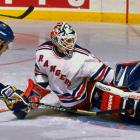 A standout at Northwood Prep in Lake Placid, N.Y., and the University of Wisconsin, Richter was taken in the second round of the 1985 draft by the Rangers. In 1994 he went 42-12-6 with a 2.57 GAA, helping end New York's 54-year Cup drought. The three-time All-Star retired in 2003 with 301 wins and a 2.89 GAA.