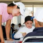 Since 2005, Lorena Ochoa has been supporting La Barranca Elementary School, a nontraditional school in an impoverished community near Guadalajara, Mexico.