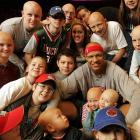 With athletes so often in the headlines for misdeeds, it's heartening to know there are some who make a positive difference in the world. Here are 10 examples. <br><br>Growing up with alopecia areata, a congenital autoimmune skin disease that causes hair loss on the scalp and sometimes the entire body, made life difficult for Bucks forward Charlie Villanueva. Now he offers financial and emotional support to kids such as Alex Fabozzi, 16 (top left), who suffers from the disease.