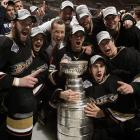 Inspired goalkeeping by Jean-Sebastian Giguere and energetic play from Chris Pronger, Corey Perry and Ryan Getzlaf lit the fire under the Anaheim Ducks, who won their first championship.