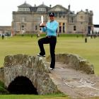 Playing in her 24th major, Lorena Ochoa finally got over the hump, winning by four strokes in the first women's professional tournament to be held at St. Andrews.