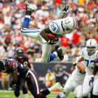 To paraphrase the great Henri Cartier-Bresson, to make a brilliant image is to capture, in a fraction of a second, the significance of an event. This gallery offers some of the iconic images of 2007, beginning with Colts running back Joseph Addai in a game against the Houston Texans.