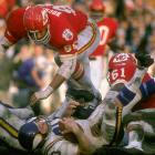 Even though the Jets had beaten the Colts in the previous Super Bowl, people still thought the AFL couldn't compete with the NFL, and the Vikings were favored by about two touchdowns. Buch Buchanan and the Hall of Fame-laden Chiefs defense completely dominated Minnesota in a 23-7 win that permanently put to rest the idea the AFL couldn't compete with the NFL. The leagues merged the following season.