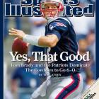 Brady as good as he's ever been.