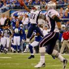 Randy Moss's one-handed catch against the Colts.