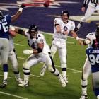 Montana, Aikman, Elway ... Dilfer? The unsung signal-caller of the defensive-minded Ravens sure didn't pass the smell test for Super Bowl quarterbacks on the eve of the championship showdown against the Giants. But in completing 12-of-25 passes for one touchdown and no interceptions in a 34-7 rout of the Giants, the much-maligned veteran earned his championship stripes.