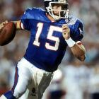 With victories in 11 of their first 13 contests, New York entered the homestretch with a full head of steam. But when Phil Simms suffered a season-ending broken foot in Week 14, the fatalists in Gotham lamented their lost season. Enter longtime understudy Jeff Hostetler, who steered the Giants to victories in their final two games before sweeping through the playoffs. In a dramatic 20-19 victory over Buffalo in Super Bowl XXV, Hostetler completed 20-of-32 passes for 222 yards with one touchdown and zero picks.