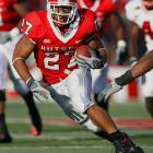 He leaves Rutgers as the team's all time rushing leader, just one of almost a dozen school records he holds.  His limited size and extensive college workload (Rice carried the ball 910 times in three years for Rutgers) are a concern, yet scouts predict he is good value in round two.