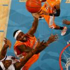 In one of the best games of the season, Smith led the Volunteers in scoring with 16 points and added six rebounds as Tennessee knocked off previously unbeaten and then top-ranked Memphis Tigers.