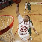 The Indiana freshman demonstrates how he got the nickname ''Air Gordon'' as he throws one down against  Michigan State. The freshman phenom is a fan favorite, leading the Hoosiers in scoring with 21.4 points per game.