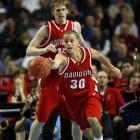 In his sophomore year at Davidson, Curry is leading the Wildcats with 25.3 points and 4.8 rebounds per game, including a 41-point explosion at UNC Greensboro.