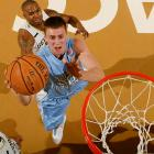 The 6-foot-9, 250 pound junior has been a nightmare for opposing teams' big men, averaging 23.2 points and 10.3 rebounds for the top-ranked Tar Heels.