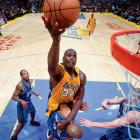 The Lakers' second 19-game winning streak in two years spanned the final eight games of the regular season and the first 11 games of the playoffs. Only an overtime loss to the 76ers in the NBA Finals prevented the Shaq- and Kobe-fueled Lakers from becoming the first NBA team to complete a spotless postseason.