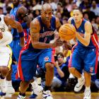 The only two times the Pistons have won 13 in a row, they've also won the league title. Chauncey Billups & Co. did it five years ago, matching the 1989-90 Bad Boys, featuring Bill Laimbeer and Isiah Thomas.