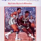 """Led by the """"Big O"""" and Lew Alcindor, the Bucks dominated their opponents, resulting in a 66-16 record and a short-lived NBA record 20-game winning streak."""