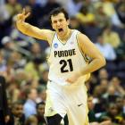 The Boilermakers built a 19-point lead at the half and cruised to their 10th straight first-round win since 1993.