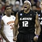 In a battle of two of the nation's top freshmen, Kansas State's Michael Beasley compiled 23 points and 11 rebounds, while USC's O.J. Mayo had 20 points and five assists.