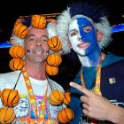 UConn fans support their team against Stanford  during their semifinal game of the 2008 NCAA Women's Final Four.