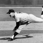 Ford started more games (22), pitched more innings (154) and struck out more batters (94) than any other pitcher in World Series history. His .690 winning percentage (career record: 236-106) is among the highest winning percentages of starters with 200 decisions. In 1961 he led the AL with a 25-4 record.  Runner-up: Hal Newhouser  Worthy of consideration:  Garret Anderson, Dwight Gooden,  Bo Jackson, Ted Lyons, Scott McGregor and   Frank Viola
