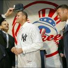 The Hot Stove season turned bitter for the Red Sox as their deal for Texas' superstar shortstop fell through. The Yankees stepped into the void and acquired Alex Rodriguez in exchange for second baseman Alfonso Soriano.