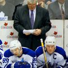 Coach Pat Quinn could never quite get his promising cast over the hump. Mats Sundin (right), Alexander Mogilny (left), Tomas Kaberle, Bryan McCabe and pugnacious mates Darcy Tucker and Tie Domi always seemed to be just a piece or two away, even with the likes of Curtis Joseph or Ed Belfour in net. They had three 100-point seasons, but lost the conference final in 1999 to Buffalo and Carolina in 2002. After three straight seasons of no playoffs and the GM spot open, what remains of this nucleus may be on its way out of town.