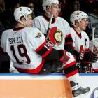 Seven years of great expectations were fueled by six 100-point seasons and luminaries such as Daniel Alfredsson, Dany Heatley, Zdeno Chara, Wade Redden and Jason Spezza. The Senators endured a seven-game Eastern final loss to New Jersey in 2003 and came closest to the silverware in a five-game loss to Anaheim in the 2007 Stanley Cup Final. Their run ended with a sweep by Pittsburgh in the first round of the 2008 playoffs. Ottawa failed to qualify in 2009.
