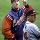 The outspoken lefty saved 38 games for the Atlanta Braves in 1999 and ignited a firestorm with his pie-hole by publicly denigrating New Yorkers, gays, Asian women and black teammate Randall Simon in an SI article. MLB-imposed sensitivity training didn't seem to have much effect -- he admittedly left after 15 minutes -- and his return to New York in 2000 required 700 police at Shea Stadium with security measures befitting a Bush visit to Osama's cave. By 2001 Rocker was on his way out of Atlanta and, ultimately, the majors.