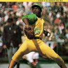 After just three wins in his first two seasons, Vida Blue broke out in 1971  when he went 24-8 with a 1.82 ERA and 301 strikeouts en route to winning the CY Young and AL MVP for the West-champion A's.