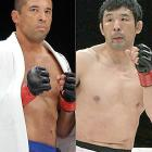 """Dubbed """"the Gracie hunter,"""" Kazushi Sakuraba has taken down four of the family's members. The first was Royler, followed by Royce (left), Renzo and Ryan. It wasn't until June 2006 that Royce handed Sakuraba a loss by unanimous decision at K-1 Dynamite!USA."""