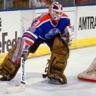 The MVP of the Oilers' fifth and last (to date) Cup, the backup netminder was acquired from Boston in 1988, replaced the great Grant Fuhr as starter the following season, and rescued Edmonton from a 3-1 first-round hole against Winnipeg. Ranford came back to haunt his old team in the Cup final by making 50 saves in a 3-2 triple win in Game 1 that stands as the longest overtime match in Cup finals history. His postseason slate that year: 16-6 with a 2.53 GAA in 22 games.