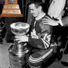The NHL's award for the most valuable player of the postseason (inset) was named in honor of Conn Smythe, the Hall of Fame coach, GM and owner of the Toronto Maple Leafs (and the reason why the trophy bears a resemblance to the old Maple Leaf Gardens.) Speedy Hall of Fame center Keon was a brilliant all-around player whose modest numbers (3 goals, 8 points in 12 games) belied his defensive contribution to the last Cup-winning team from Toronto, which defeated the rival Montreal Canadiens in six games.