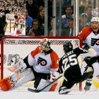 The Penguins continued to breeze through the playoffs, claiming two victories against the Flyers in the Eastern Conference finals. The wins extended their playoff run to 10-1, making them the first team to achieve such success since the 1995 Red Wings.