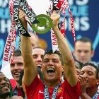 """The oft-dubbed """"Yankees of soccer"""" picked up their 10th Premier League title in the last 16 years as they defeated Wigan 2-0 on Sunday to edge league foe Chelsea by two points in the standings. Cristiano Ronaldo scored the go-ahead score in the 33rd minute off a penalty kick."""