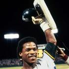 Rickey Henderson debuts for Oakland and steals his first of 1,406 career stolen bases.