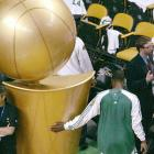 Even NBA players know the Larry O'Brien Trophy can seem larger-than-life at times.