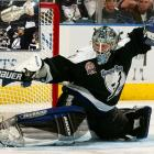 The Lightning had the first overall pick and used it on defenseman Roman Hamrlik. The goalie who would later backstop them to their 2004 Stanley Cup did not arrive until March 2001 via trade with the Jets/Coyotes for whom he'd toiled for five seasons after being taken at 204. But when Winnipeg chose him out of CSKA Moscow in '92, they landed a four-time All-Star. The first goaltender taken that year: famous flash-in-the-pan Jim Carey (Washington, second round, 32). RW Jere Lehtinen (North Stars, 4th Rd. at 88) went on to win three Selke Trophies as the league's top two-way forward and win the Stanley Cup with Dallas in 1999.