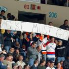 """As the losing continued, """"Mike Must Go!"""" chants were a staple at Nassau Coliseum whenever Milbury showed his face behind the bench or up in the GM's box."""
