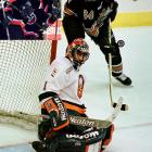 """Milbury gave himself the nickname """"Mad Mike"""" after dealing franchise goaltender Roberto Luongo and Olli Jokinen (inset) to Florida for Mark Parrish and Oleg Kvasha on Draft Day 2000. Mad Mike would then draft goaltender Rick DiPietro first overall."""